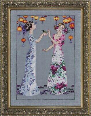 Roses of Provence Mirabilia Designs//Nora Corbett chose chart//embellishments