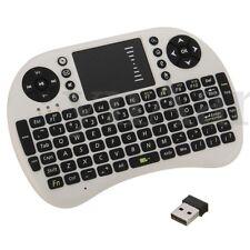 MINI TASTIERA WIRELESS WIFI USB PER TOUCHPAD PC Android SMART TV 2.4GHz RF