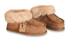Dettagli su Shepherd donna vera pelle di pecora Pantofole Stivali Da Donna Annie suola rigida 4922 mostra il titolo originale