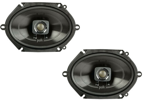 "Polk 5x7/"" 225W 2-Way Car//Boat Coaxial Stereo Audio Speakers MarineDB572"