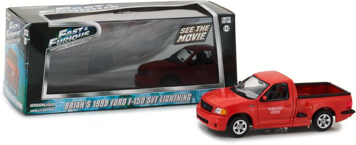 Fast & Furious Furious Furious 2001 Brians Ford F-150 SVT Beleuchtung Grünlight 1 43 8d327e