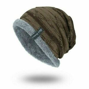 buy sale fashion styles skate shoes Cap Slouchy Hat Soft Ribbed Winter Work Warm Toboggan Knit Striped ...