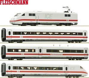 Fleischmann-N-Hochgeschwindigkeitszug-ICE-2-der-DB-AG-4-teilig-034-DCC-Digital-034-NEU