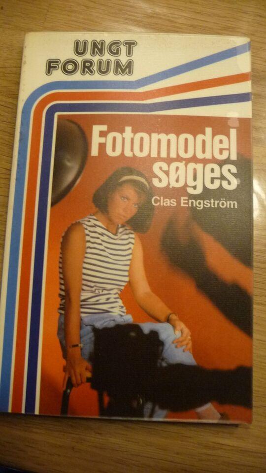 Fotomodel Søges, Claus Engström, genre: roman