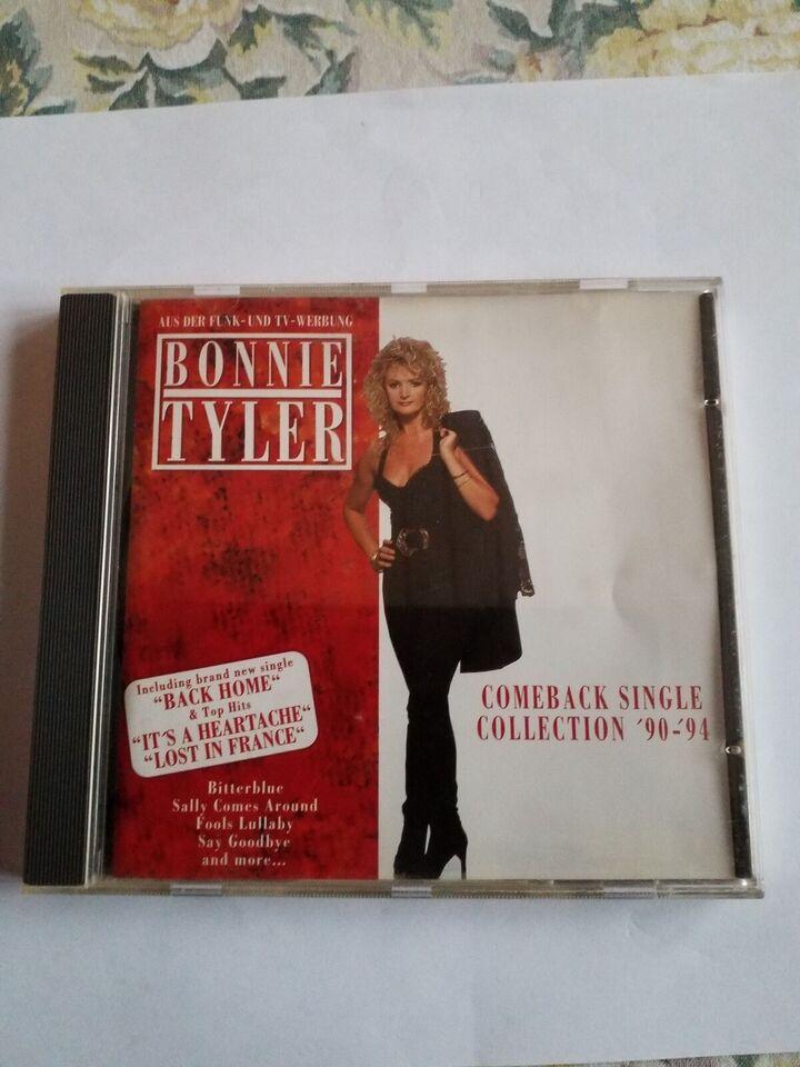 BONNIE TYLER: COMBACK, pop