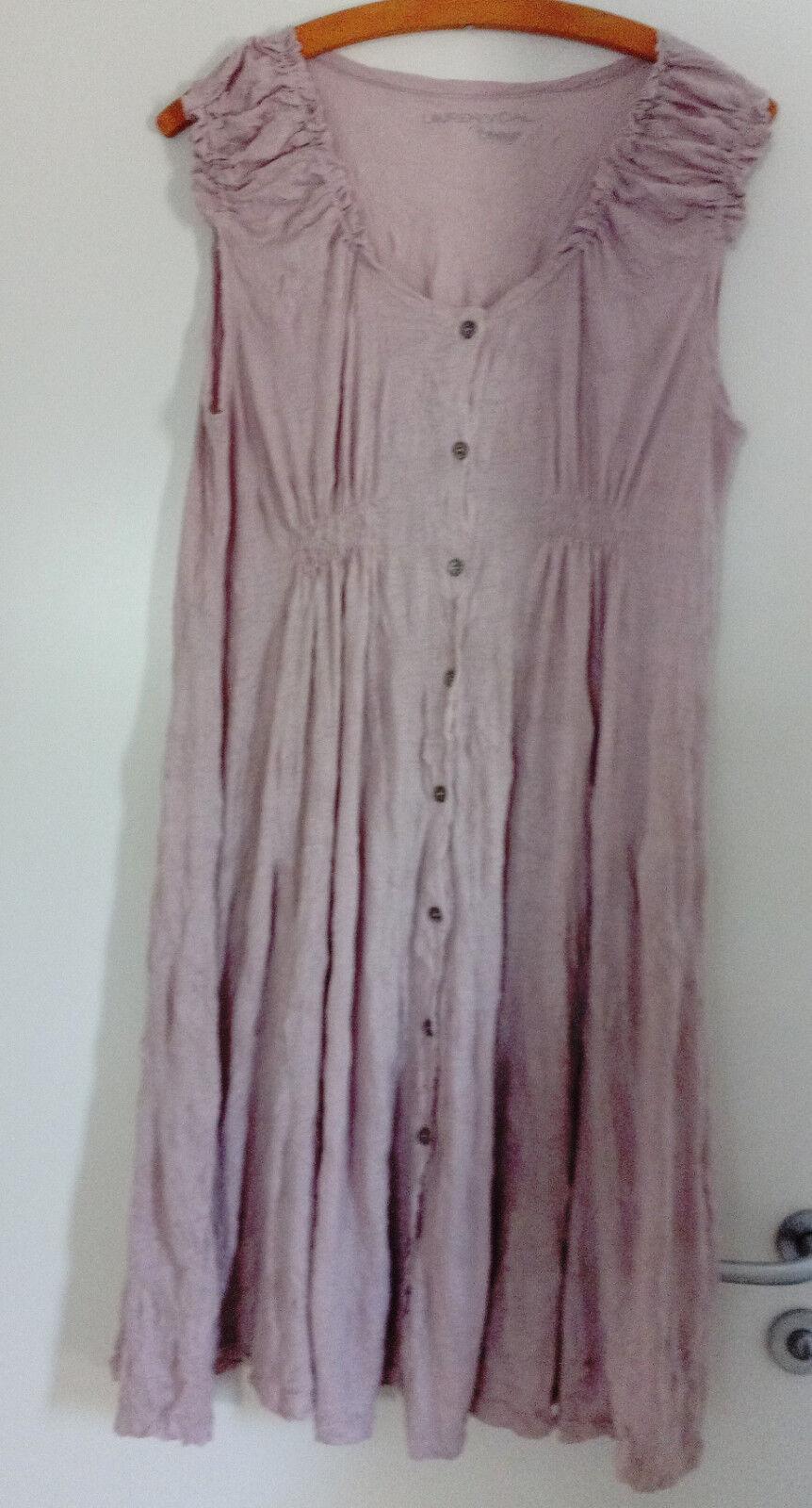 Lauren Vidal Kleid Gr. M ( 40 42 44  ) flieder Rosa  NP   BW 44 cm
