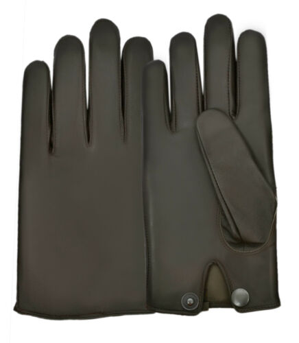 Driving Gloves Men/'s Dress Fashion Classic Real Leather Lambskin Chauffeur Style