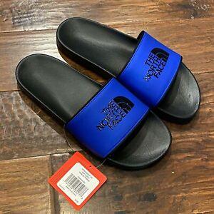 The-North-Face-Base-Camp-Slide-II-Slippers-Men-039-s-size-12-tnf-black-tnf-blue
