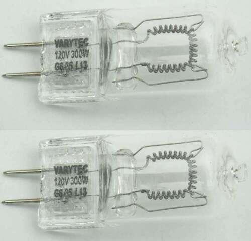 2 Stück 120 V 300 W G6,35 G 6,35 Gx6,35 Leuchtmittel Stiftsockel Lampe VARYTEC