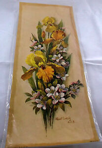 Decoupage Paper Arts Crafts Patricia Nimocks Nip Flowers Prints Transfer Framing High Standard In Quality And Hygiene Collectibles Vintage, Retro, Mid-century