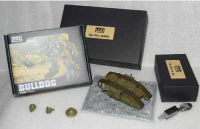 Toyworld TW-FS01 Bulldog  SS ratio alloy Transformers Old paint in stock