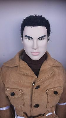 "NRFB NIGEL NORTH EXCLUSIVE COME LIVE WITH ME  CINEMATIC CONVENTION  12"" doll"