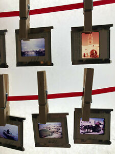 Lot-Vintage-1970s-Projector-Slides-Africa-Tanzania-to-Morocco-World-Trip-Memory