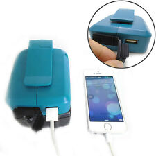 18V Makita Battery 2USB Ports Charger Adapter for BL1830/1430 Mobile Devices