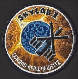 SKYLAB 1 LION BROTHERS VINTAGE ORIGINAL NASA Hallmarked CLOTH BACK SPACE PATCH