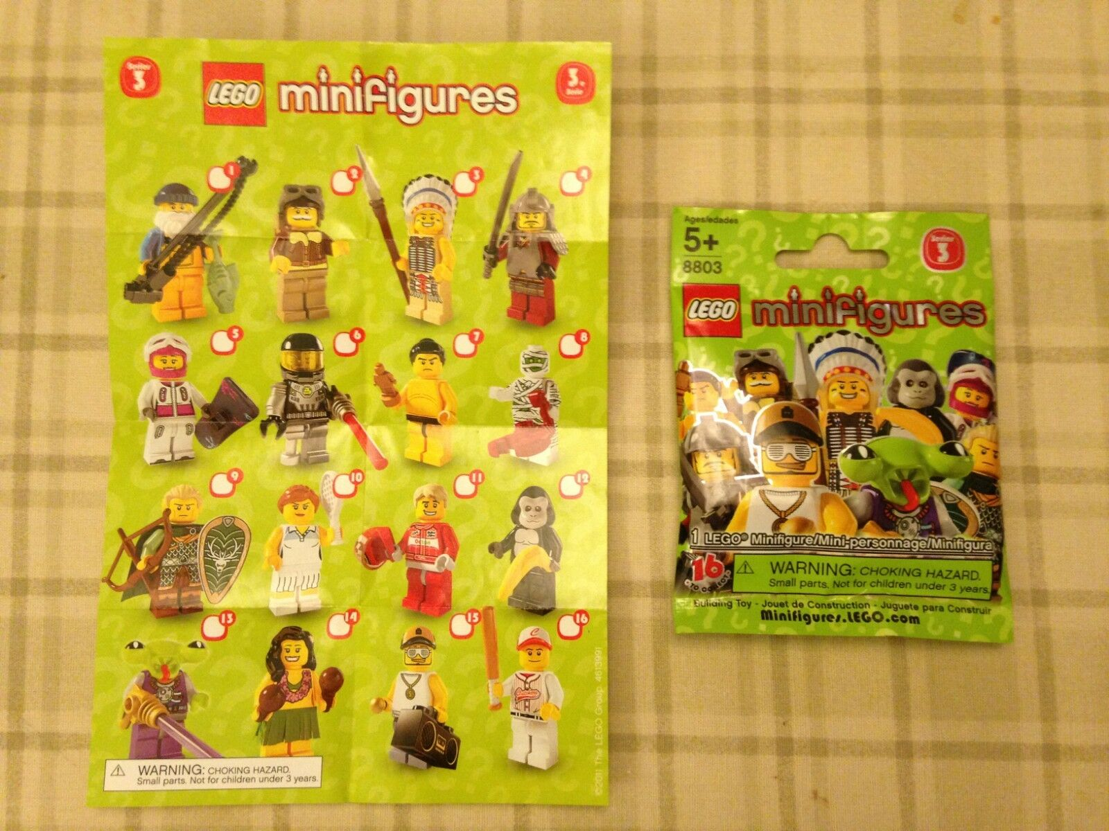 NEW LEGO SERIES 3 POLYBAG MINIFIGURE 8803-15 RAPPER IN POLYBAG 3 a4d9bd
