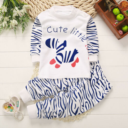 Kinder Baby Kleidung Pajamas Outfits Sets Freizeit Shirt Jogging Hose 2tl Set