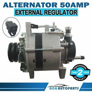 Alternator-for-TOYOTA-HILUX-2-8L-3L-2-4L-2L-DIESEL-1985-1993-Output-50A-12V