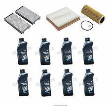 BMW E70 X5 xDrive 35d 2009-2013 Oil Air Pollen Filter Service 5W-30 Synthetic