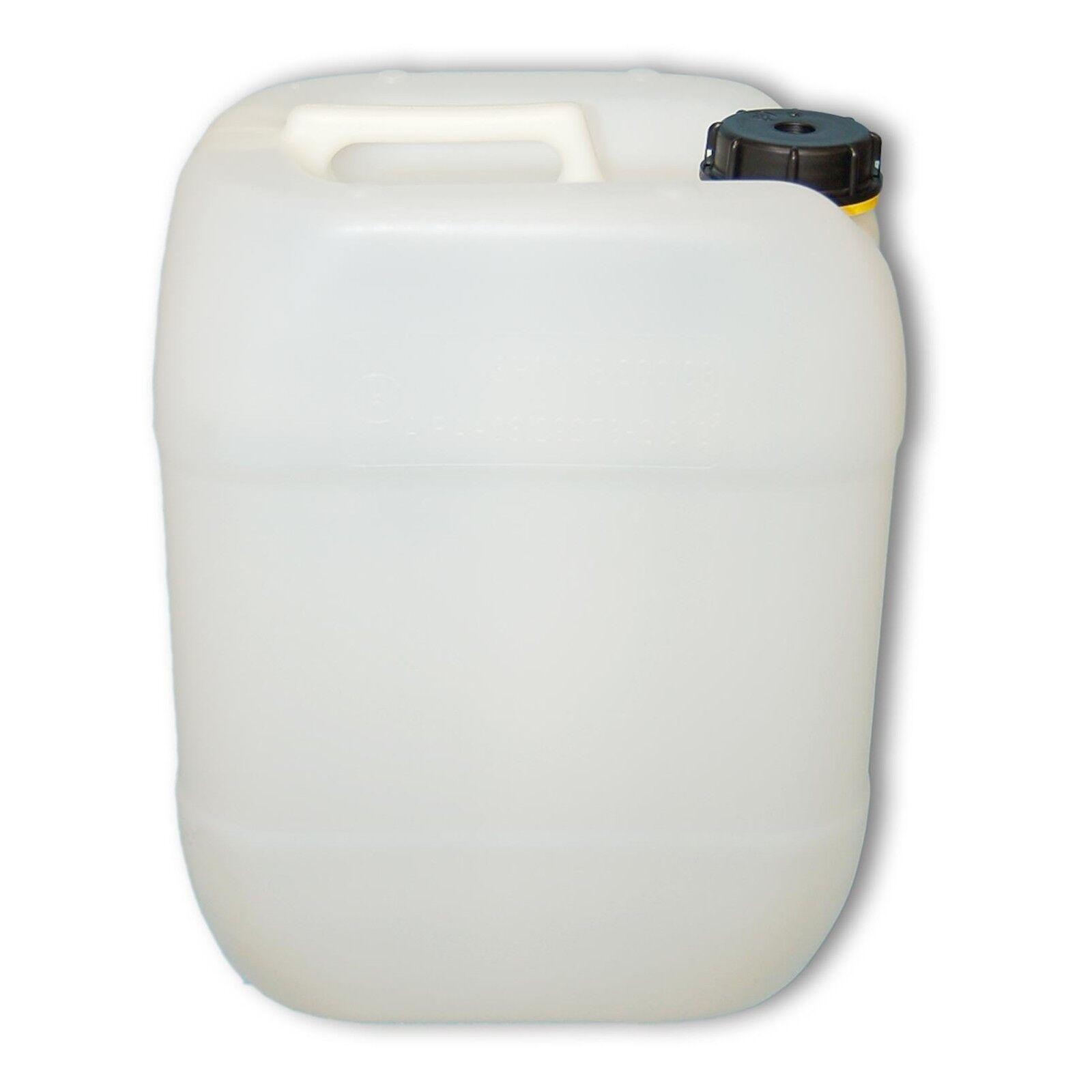 Bidon plastique 20 L, DIN 61 naturel, HDPE, fabriqué en tuttiemagne 22002