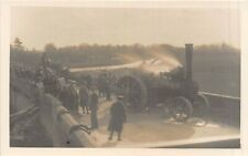 POSTCARD   CAMBS   WANSFORD  Bridge  Traction  Engines      RP