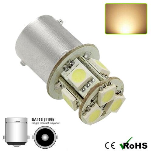 1 x 6 V blanc chaud BA15s 8 SMD 5050 DEL SIDE INTERIOR Light Bulbs GLB 205 6 V