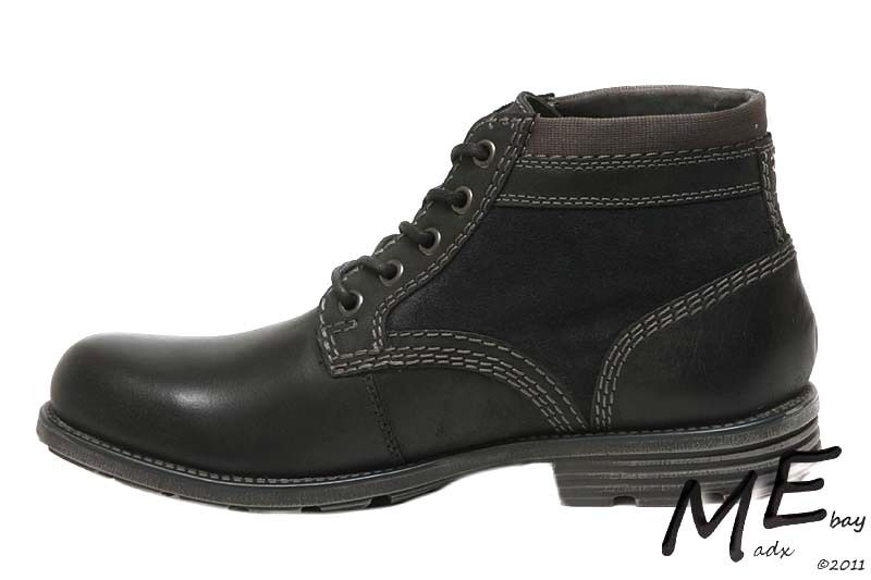 New Clarks Collection Darian Mid Uomo Pelle Stivali Sz. 10.5 (MSRP  130)