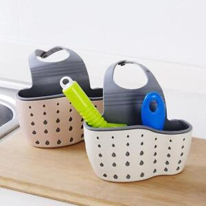 1x-Sink-Shelf-Soap-Sponge-Drain-Rack-Bathroom-Holder-Kitchen-Storage-Suction-Cup