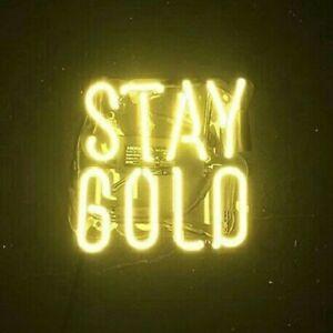 14-034-x9-034-Stay-Gold-Neon-Sign-Light-Home-Room-Wall-Hanging-Nightlight-Handmade-Gift