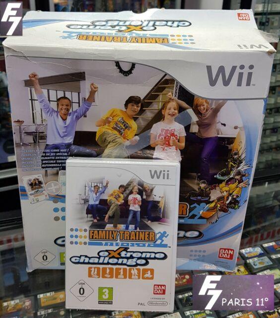 Family Trainer: Extreme Challenge Nintendo Wii - Wii U VERSION PAL EURO