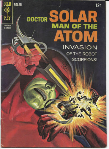 Details about  /Doctor Solar Man Of The Atom #18 #19 1966-1968 Gold Key Comics Choice