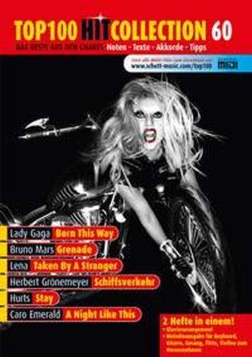/% TOP 100 HIT COLLECTION Nr Grönemeyer MF2060 /% 60 SONGBOOK Noten Lady Gaga