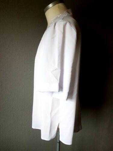 Blanc De Royal xxl Élégant Avec De Chemisier Gr Dentelle Fashion La pvUcncWP