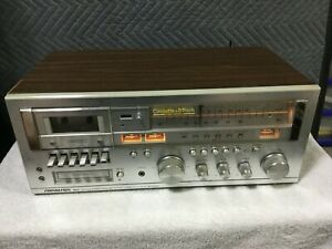 Vintage-Soundesign-5928-AM-FM-Stereo-Cassette-Tape-8Track-Player-Receiver-TESTED
