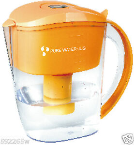 Alkaline Water Filter Jug + one free 7 stage filter. Ideal for offices BPA Free