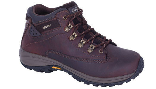Mens leather walking walking walking hiking boots Slatters Woomera 04daa5
