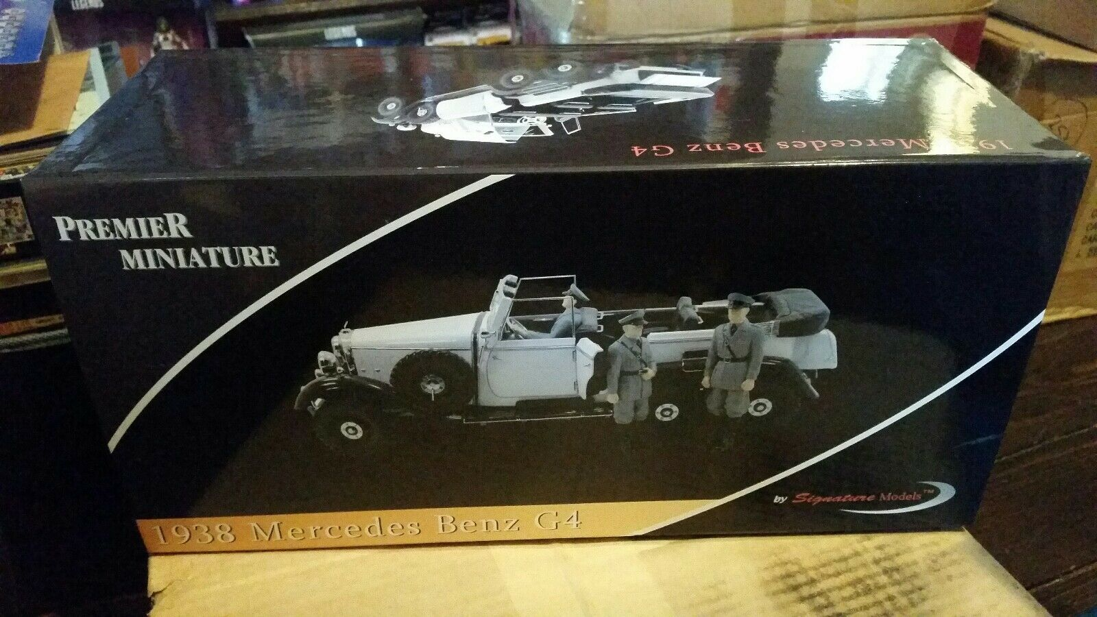 Signature Models Premier Miniature 1 18 Scale Diecast 1938 Mercedes Benz G4 MIB