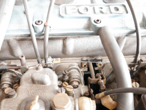 Mk1 escort RS1600 bda throttle cable retour ressort support /& printemps