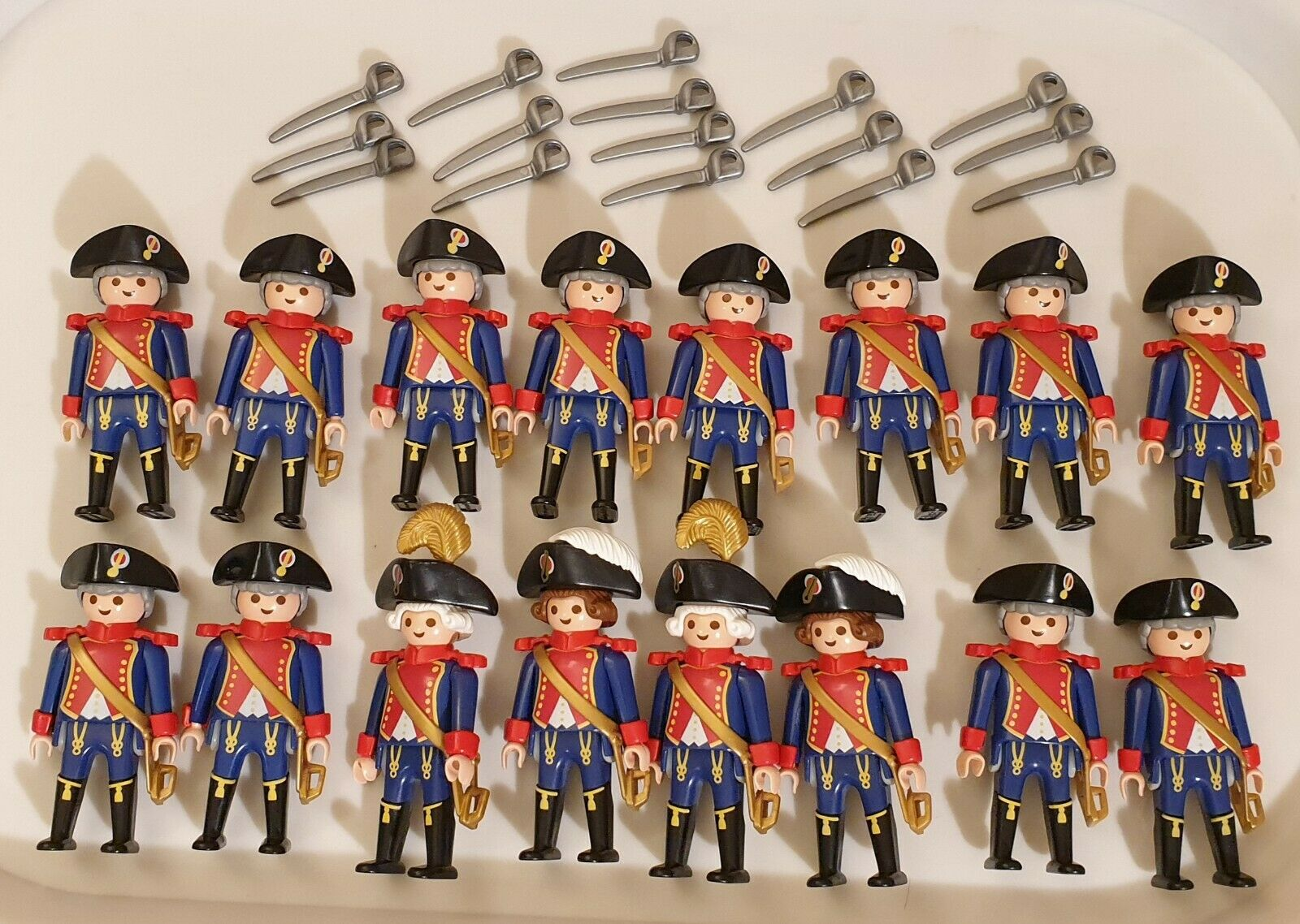 Playmobil 12 French  Soldiers