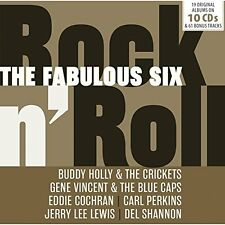 Various - The Fabulous Six (Rock n' Roll) (2016)  10CD Box Set  NEW   SPEEDYPOST