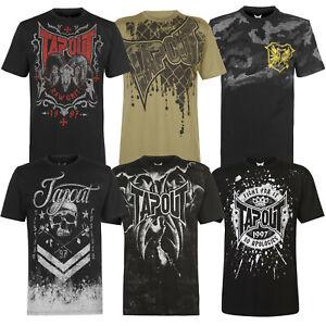 Tapout-Herren-T-Shirt-MMA-Shirt-Tee-Kamfsport-Logo-Box-Print-Street-NEU