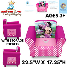 Children Kids 2in1 Flip Open Foam Sofa Bed Disney Mickey Mouse Toddler Couch For Sale Online Ebay