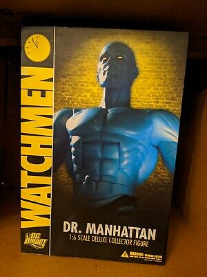 Manhattan 1:6 Scale Act Figure 2009 DC Comics Amricons Watchmen Dr