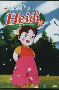 HEIDI-DVD-La-Nina-de-los-Alpes-VOLUMEN-2-20-Capitulos-en-Espanol-Latino