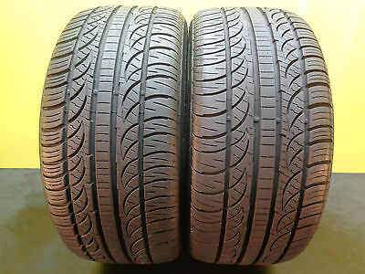 2 TIRES PIRELLI  ZERO NERO All Season MO 245/40/18     #13510   96% MIAMI!