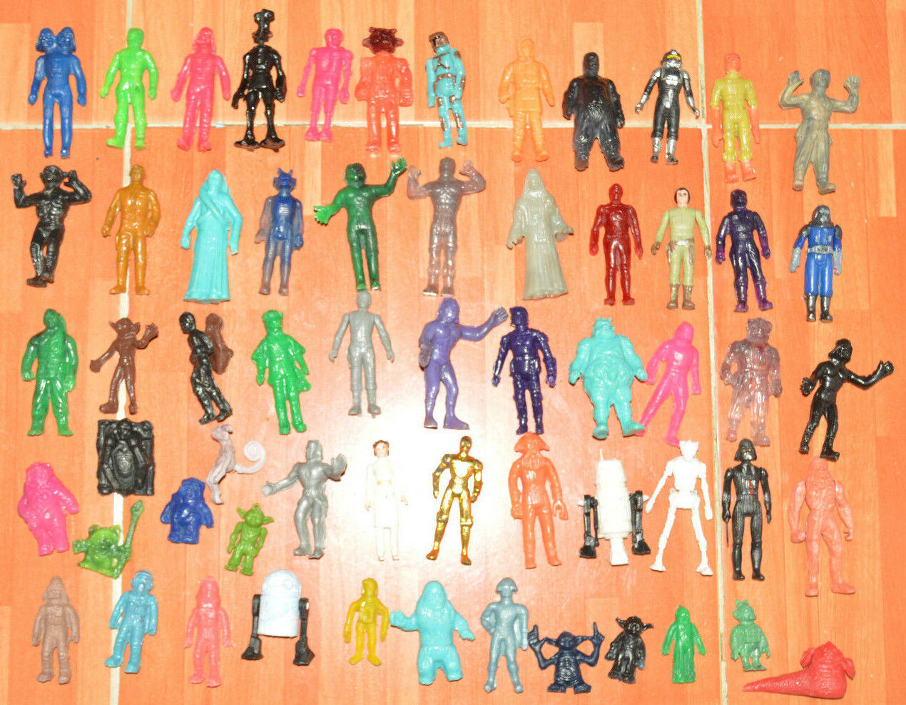 RARE TOY MEXICAN MEGA LOT 60 FIGURES BOOTLEG BOOTLEG BOOTLEG STAR