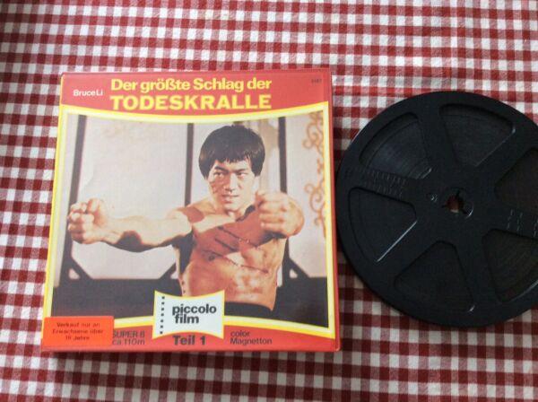 1 Films Super 8 Sonore Bruce Li Langue Allemand