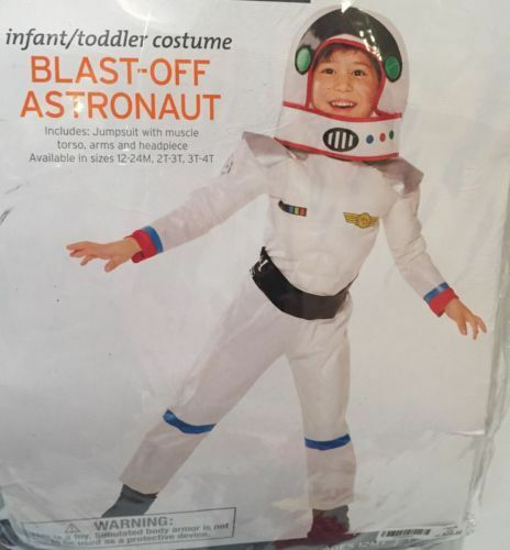 Infant//Toddler Costume Blast-off Astronaut for Halloween NEW