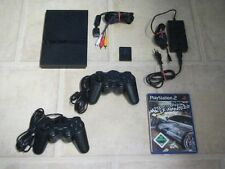 Playstation 2 Slim komplett mit 2 Controller + Spiel Need for Speed Most Wanted