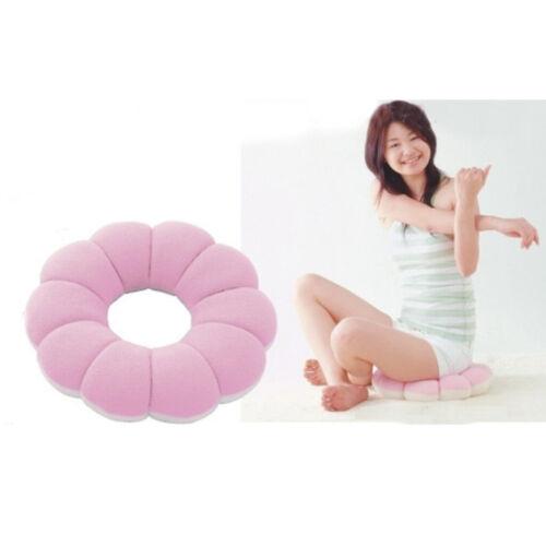 Round Cushion Seat Cushion Pillow Sitting Donut Chair Pad-Pink